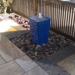 landscaping, water feature