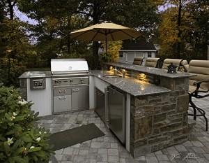 Custom Outdoor Kitchen Builders In Baltimore