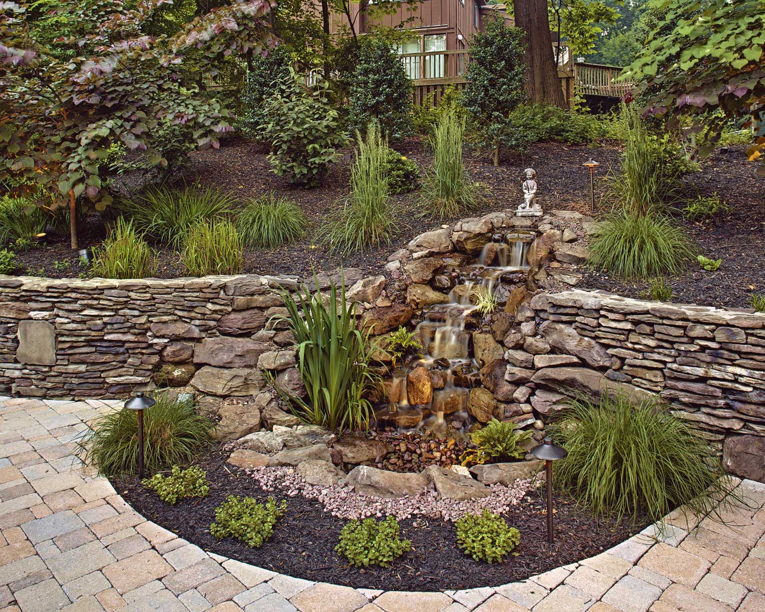 Water Features - Waterfalls, Koi Ponds, Fountains | MD