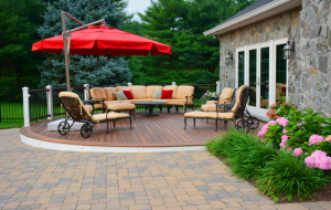 rhine landscaping patio