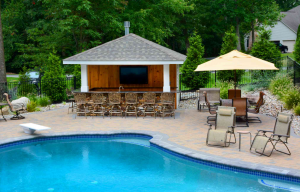 When you're ready to become a new pool owner, we can build an amazing outdoor living space for you just like this one.