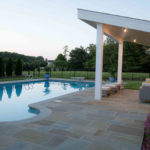 custom pool cabana construction landscaper montgomery county