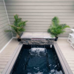 custom deck spa installation highland