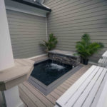 custom deck spa installation columbia