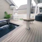 custom deck spa installation clarksville
