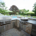 custom outdoor kitchen grill ellicott city