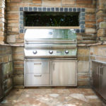 clarksville landscape construction, outdoor kitchen backyard