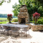 outdoor fireplace builder, sykesville, west friendship
