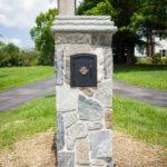bluestone mailbox construction