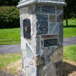 custom mailbox construction rhine landscaping