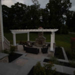 licensed insured contractor builder howard county, hardscape walkway, paver patio, covered porch, landscaping