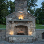 outdoor fireplace contractor builder howard county