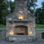 outdoor fireplace contractor builder howard county