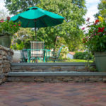 Montgomery County Landscape Contractor Designer of Masonry Retaining Wall, Paver Patio, Fire Pit, Outdoor Living Space