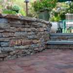 Baltimore County Landscape Contractor Designer of Masonry Retaining Wall, Paver Patio, Fire Pit, Outdoor Living Space