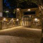 outdoor kitchen design installation in sykesville md licensed contractor masonry