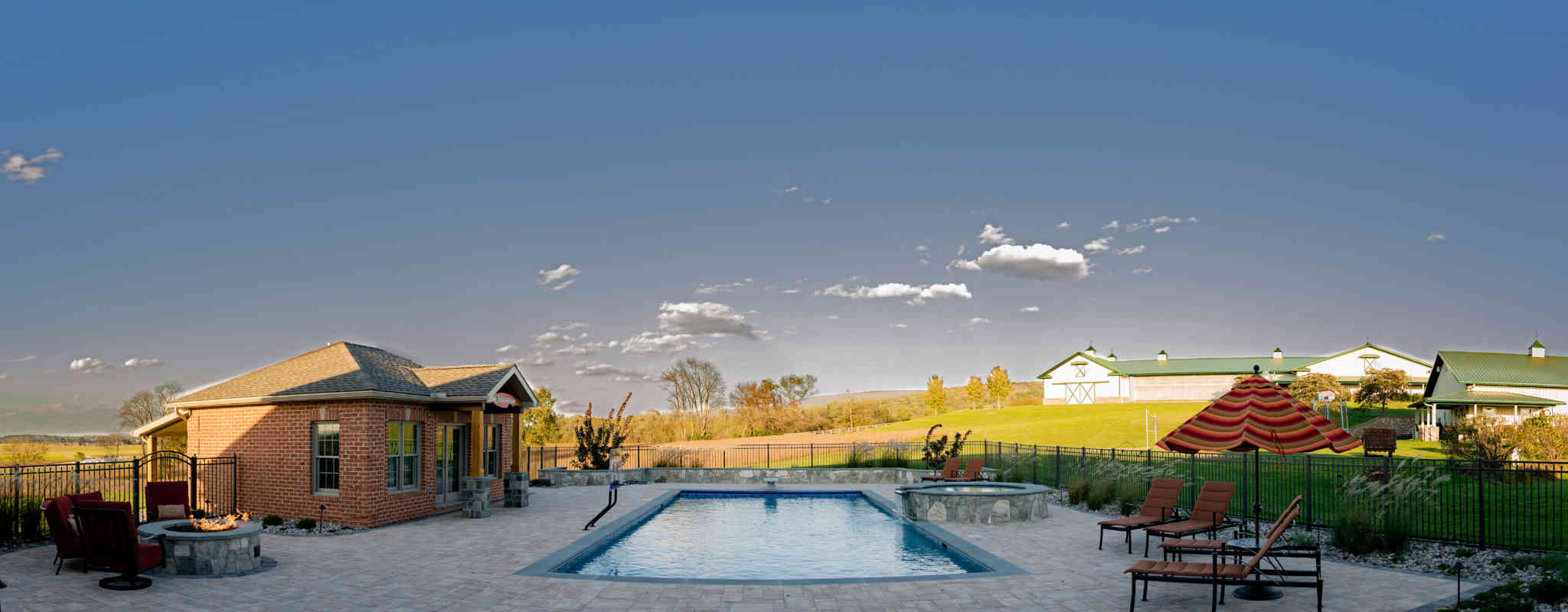 Howard Montgomery Baltimore County Swimming Pool, Construction, Landscaping Contractor in Sykesville, MD Rhine