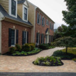 paver walkway construction, landscaping, rhinelandscaping, baltimore county, md