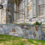natural stone steps, walking path, retaining wall, stoop, front step design, landscaping sykesville, ellicott city, glen burnie, columbia, rhine