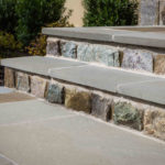 masonry, retaining wall, stoop, front step design, landscaping baltimore county, pikesville, maryland, rhine