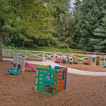 Hilltop Child Care Clarksville, Rhine, Playground Design, Landscaping, Drainage, Water Management