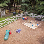 Hilltop Child Care Clarksville, Playground Design, Rhine Landscaping, Landscaping, Drainage, Water Management