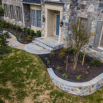 custom stone paver walkway landscaping sykesville, glen elg, ellicott city, howard county, maryland, rhine