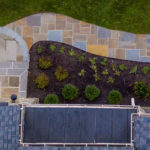 custom stone paver walkway landscaping clarksville, olney, montgomery county, maryland, rhine