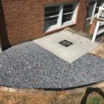 basement waterproofing repair in ellicott city, md rhine landscaping