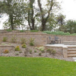 montgomery county landscaping company, rhine landscaping, custom patio, hardscape, fire pit, walls