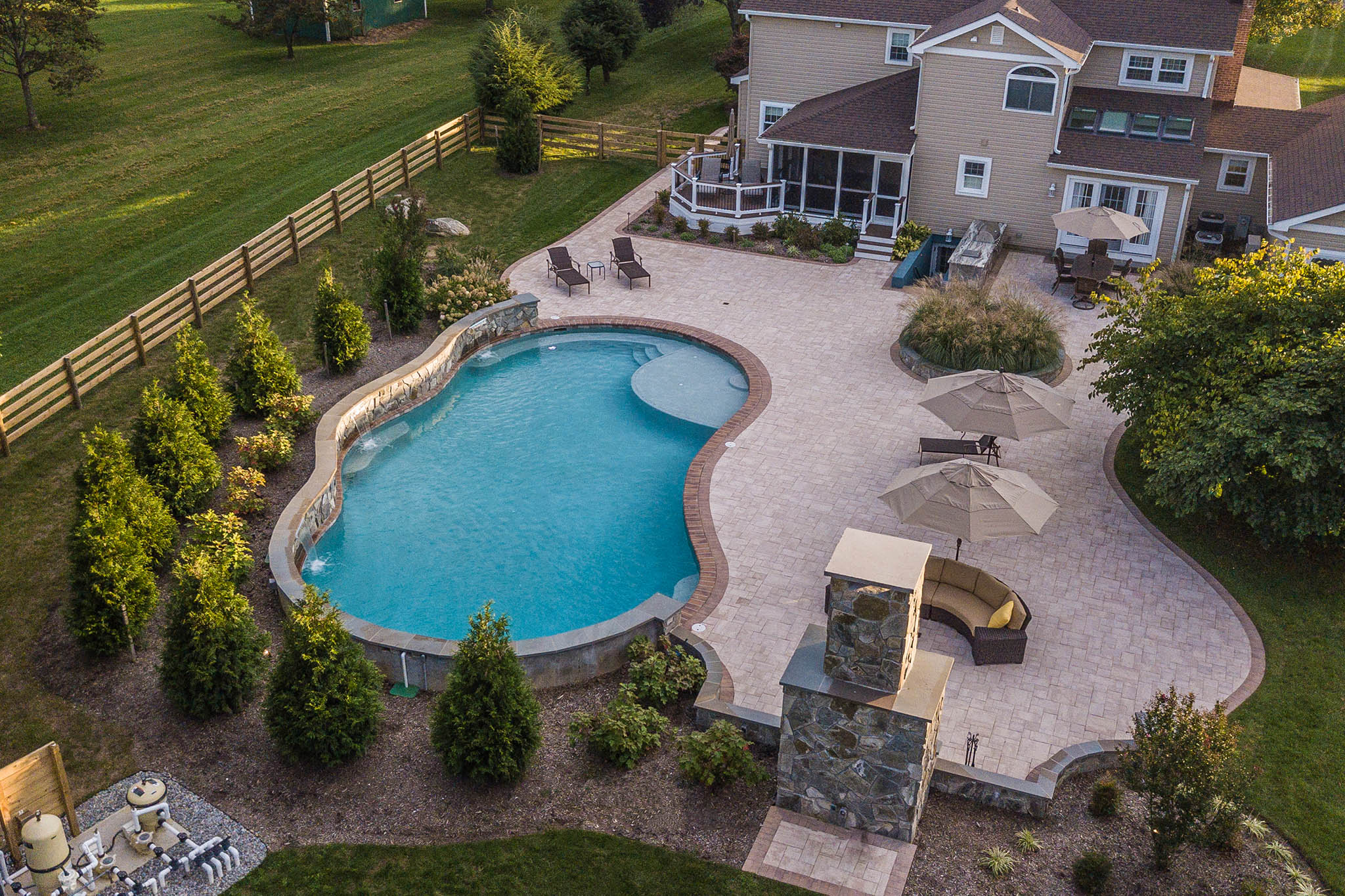 landscaping constructions pools montgomery howard